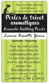 Aromatic Knitting Pearls - various fragrances