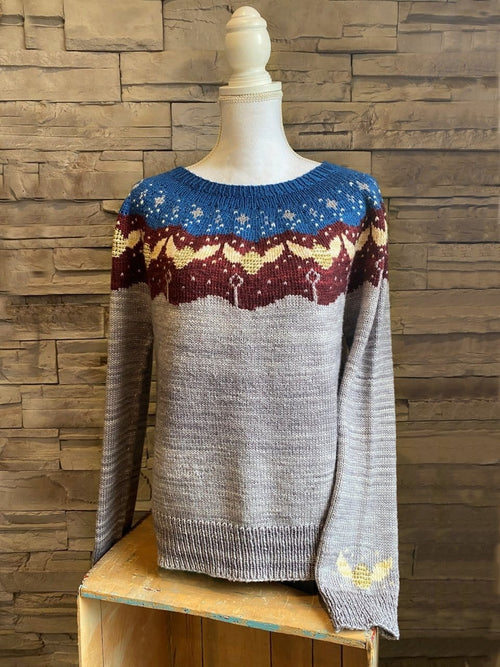 Quidditch Yoke Pullover | Knitting Pattern