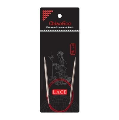"ChiaoGoo Red Lace Circular Knitting Needles 32"" (80cm)"