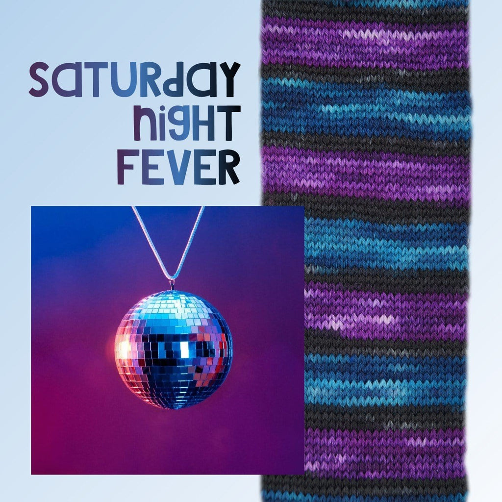 Laine AUTORAYANTEᵐᶜ - Bis-Sock Saturday Night fever