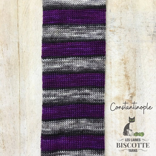 DK Pure self-striping Yarn | Constantinople
