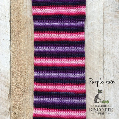 Bis-Sock Purple Rain