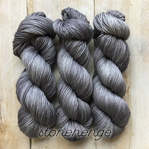 STONEHENGE by Louise Robert Design | DK PURE hand-dyed semi-solid yarn