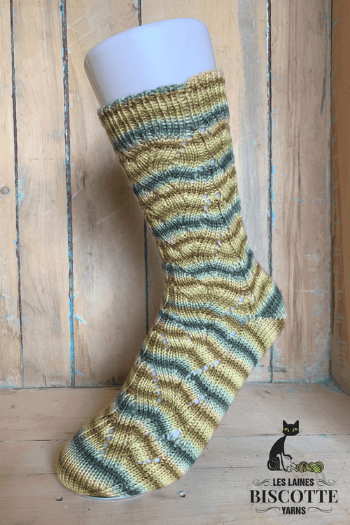 Miss Eleanor Socks | Free Knitting Pattern