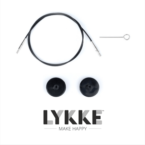 "LYKKE Interchangeable cables for 5"" needles size"