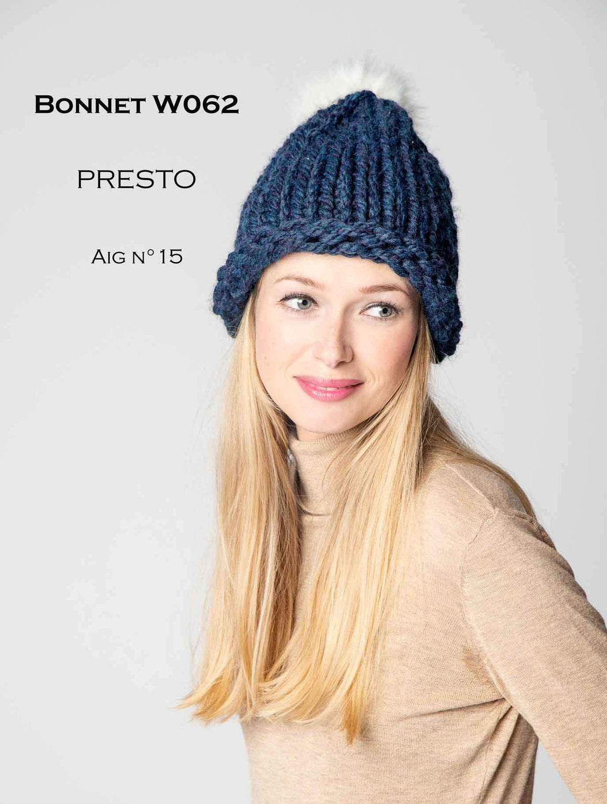 Free Cheval Blanc pattern - Bonnet W062 Web Exclusive