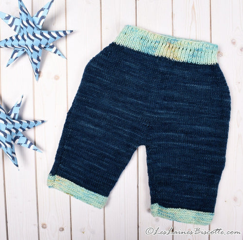 Cheval Blanc free pattern - short for baby - 0 to 3 months