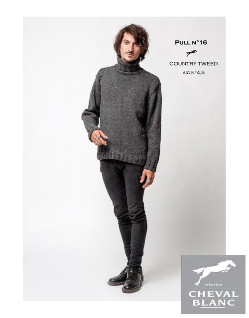 Free Cheval Blanc pattern - Jumper - Cat. 25-16