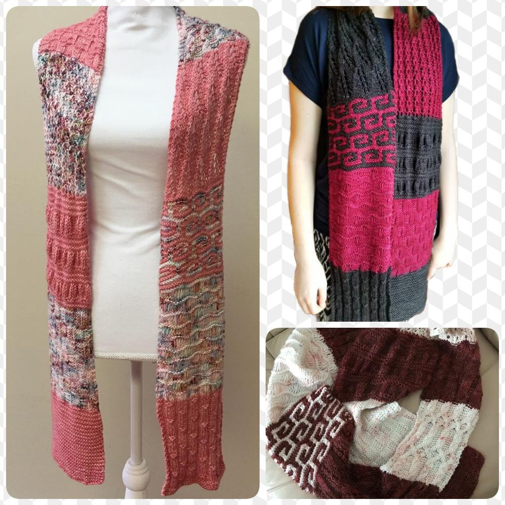 Knitting Pattern - Knitting-101 Scarf