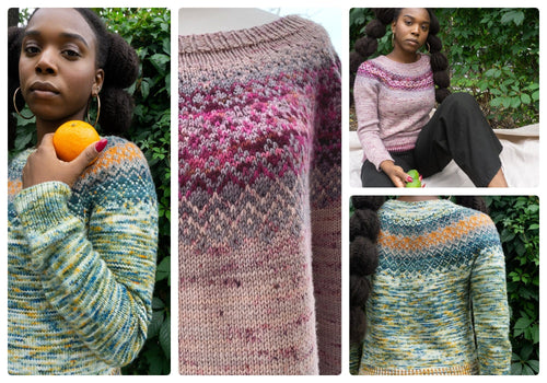 Impressionnist Pullover | Knitting Pattern