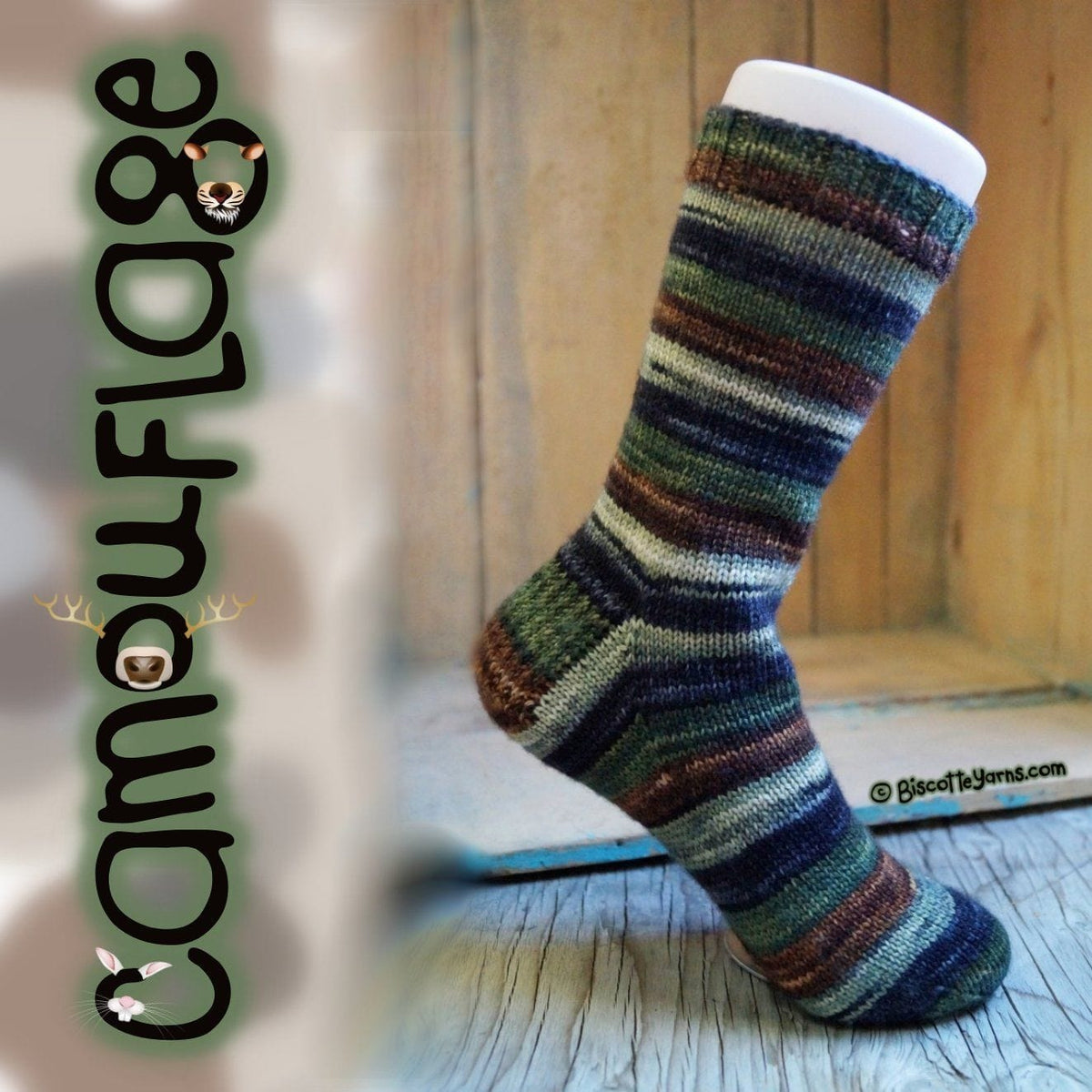 Bis-Sock Camouflage