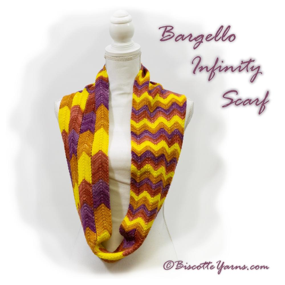 Bargello Infinity Scarf Pattern