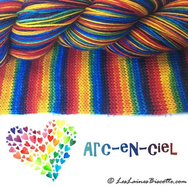 Bis-Sock Rainbow ( Arc-en-Ciel )