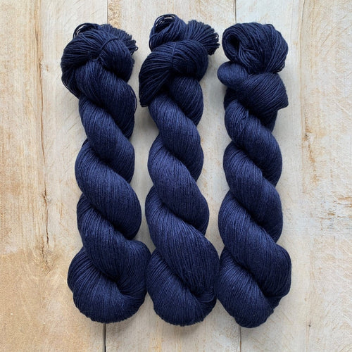 Latte ♦ Milk Protein Fiber + Wool Yarn NUIT