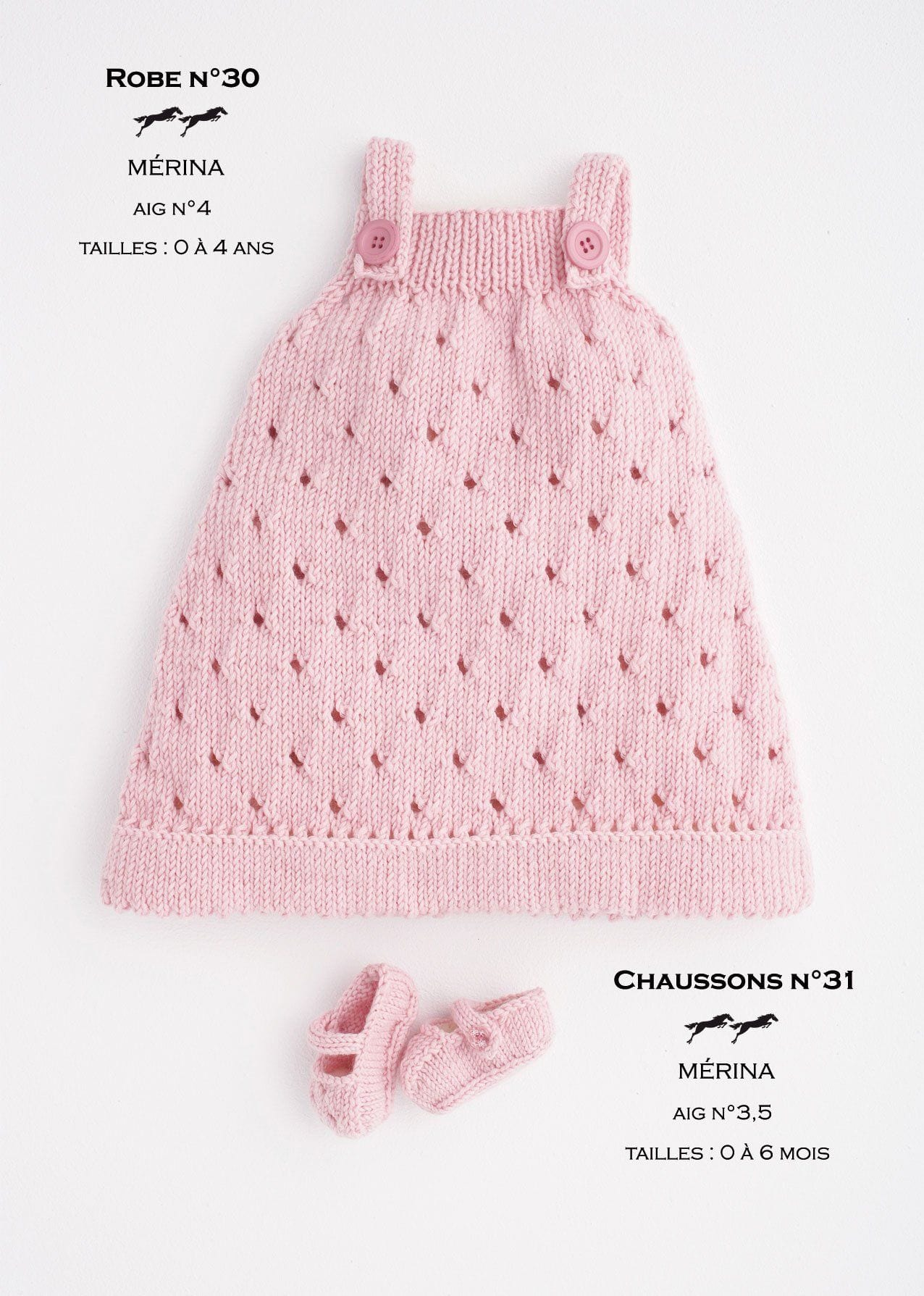 Modele robe tricot fille 3 ans