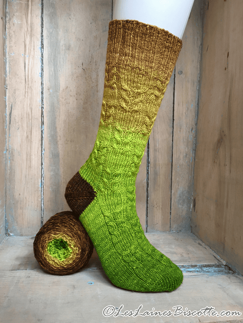 Free Socks Pattern - Mother Nature