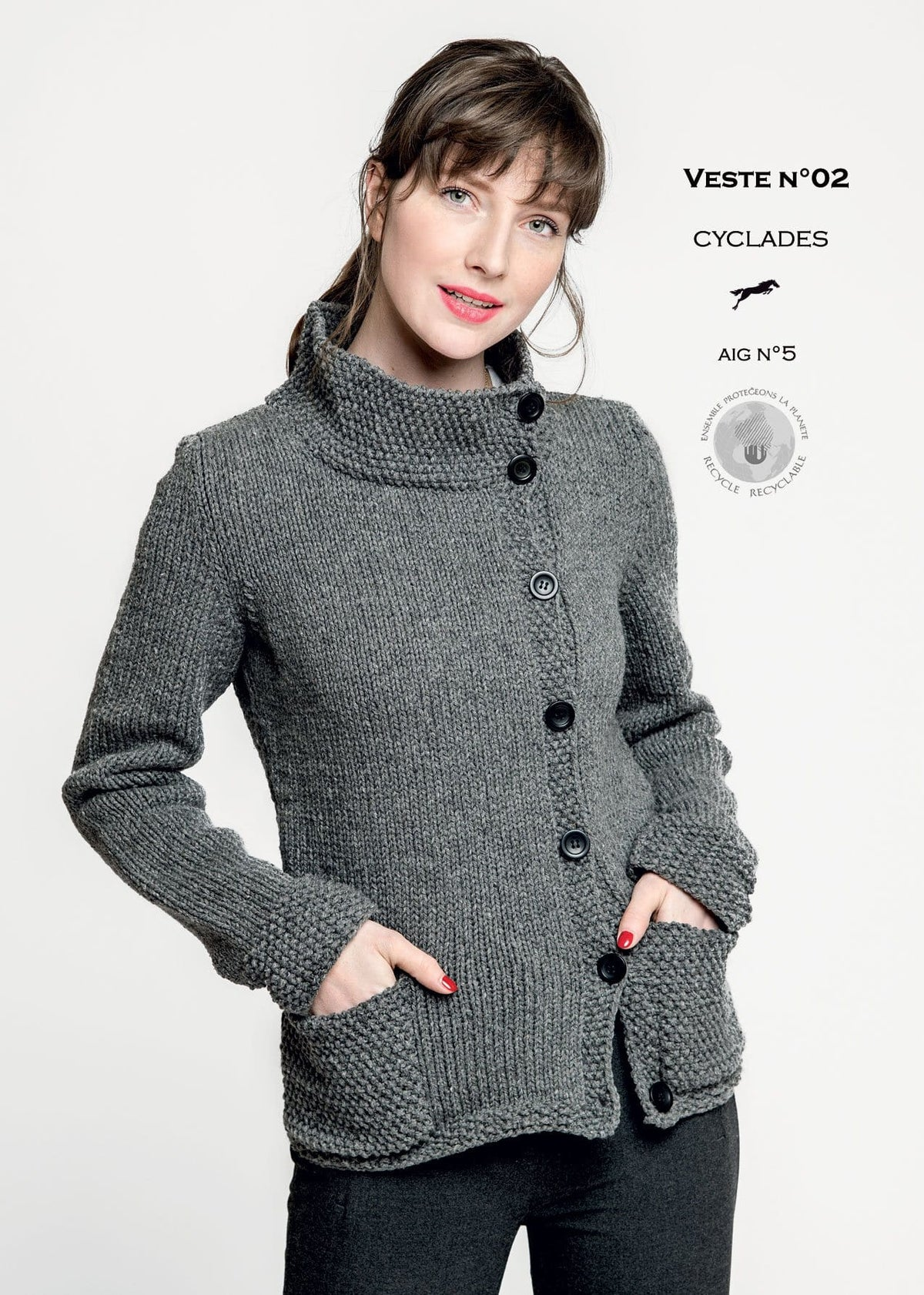 Patron Cheval Blanc Catalogue 30-02 - Veste