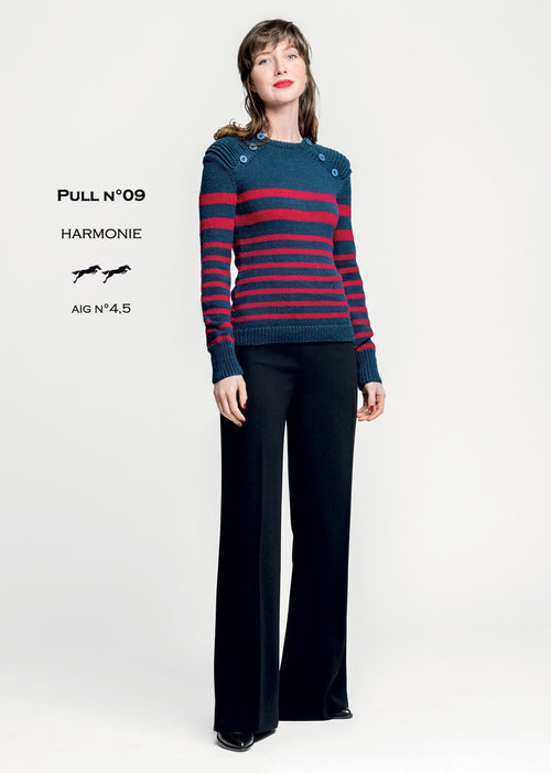 Cheval Blanc pattern Cat. 30-09 - Pull