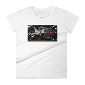Dj Shaun Da Don Ladies short sleeve t-shirt - Shirt Caviar