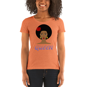 QUEEN Ladies' short sleeve t-shirt - Shirt Caviar