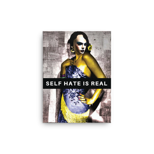 Self Hate Canvas - Shirt Caviar