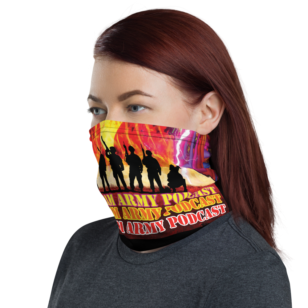 The One Graham Army Podcast Cloth Facemask