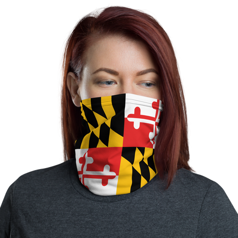 The Great State of Maryland Cloth Facemask