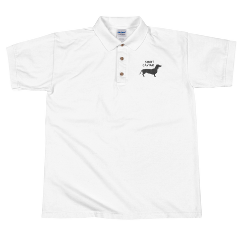 Shirt Caviar Embroidered Polo Shirt