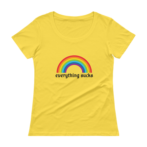 Everything Sucks Women's Shirt - Shirt Caviar