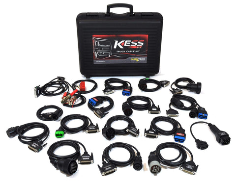 Kess V2 Complete Set of Truck Cables - Alientech UK - ALIENTECH AUTHORIZED DEALER