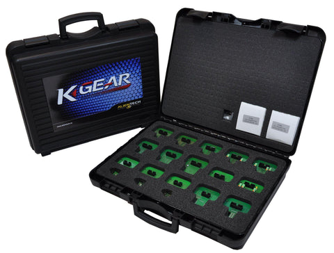 K-GEAR Adapter Kit - Complete Set of Adapters for K-TAG
