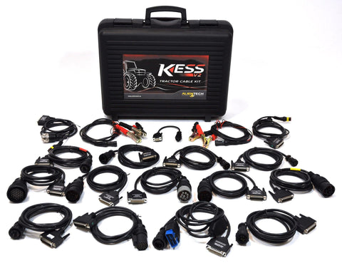 Kess V2 Complete set of Agriculture Cables - Alientech UK - ALIENTECH AUTHORIZED DEALER