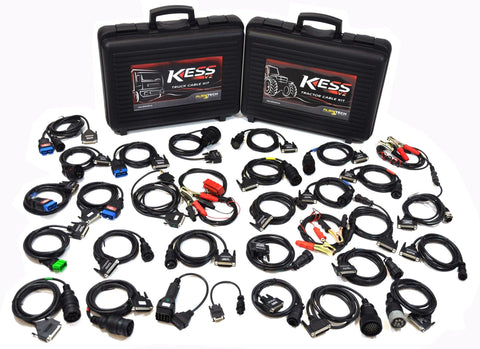Kess V2 Complete set of Truck and Agricultural Cables - Alientech UK - ALIENTECH AUTHORIZED DEALER