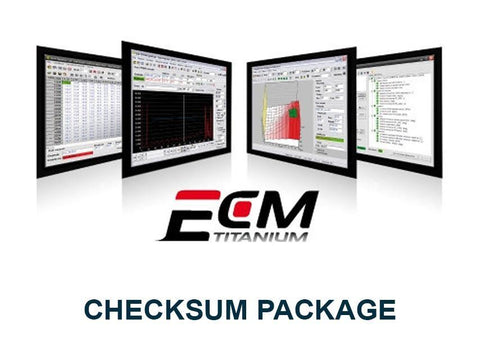 ECM Titanium Checksum Package