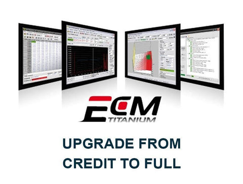 ECM Titanium - Upgrade from Credit to Full