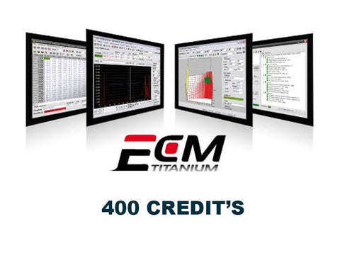 ECM Titanium - Download Credit's  ( 400 Credit's )