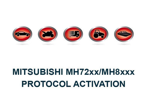 K-TAG Master Bootloader Mitsubishi MH72xx/MH8xxx Protocol Activation