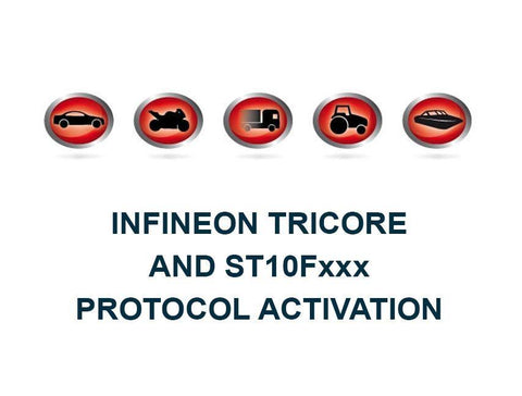 K-TAG Master Bootloader Infineon Tricore Bootloader ST10Fxxx Protocol Activation - Alientech UK - ALIENTECH AUTHORIZED DEALER