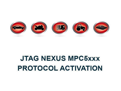 K-TAG Master JTAG Nexus MPC5xxx Protocol Activation