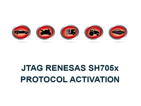 K-TAG Master JTAG Renesas SH705x Protocol Activation