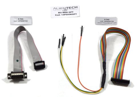 K-Tag Infineon Tricore GPT Cable Kit for Bosch EDC17-MED17 GPT ECUs