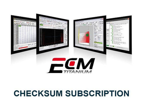 ECM Titanium - Checksum Subscription