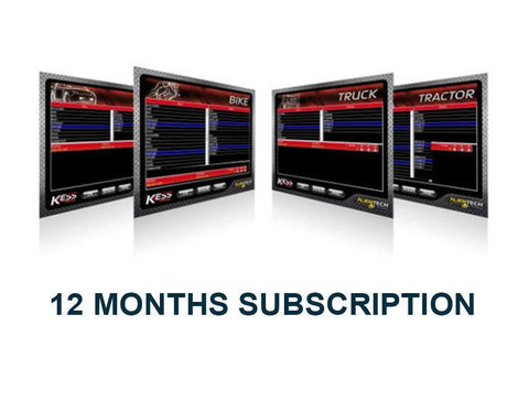 KTag Master 12 Months Subscription