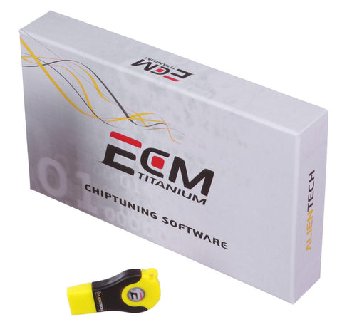 ECM Titanium - Chiptuning Software in credit version.