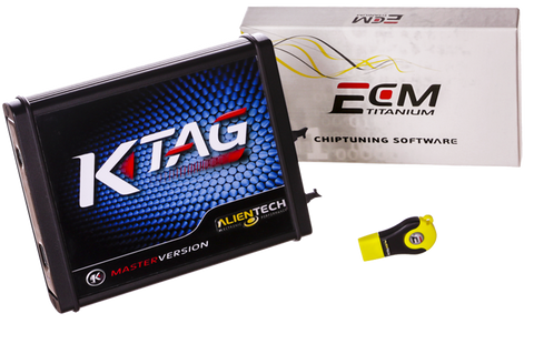 K-TAG MASTER Full & ECM Titanium Full