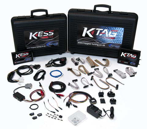 Kess V2 Car/Bike & K-Tag Slave Starter Kit: Topgear Tuning Dealer Package