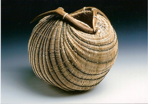 Antler Intertwine Basket | Jill Choate Basketry