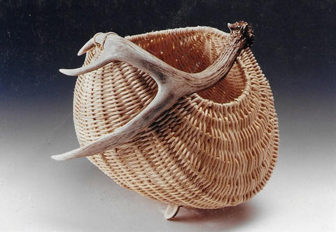 Antler Potato Basket | Jill Choate Basketry