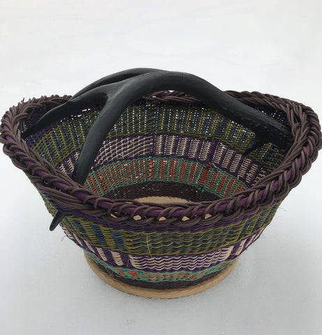 Black Antler Bowl | Basketry | Jill Choate