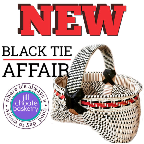 Black Tie Affair Melon Basket | Jill Choate Basketry